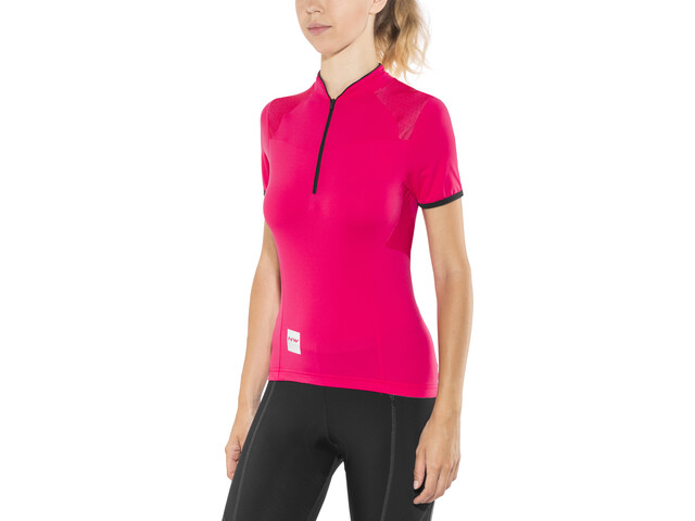 c83cd68fd Northwave Venus 2 Bike Jersey Shortsleeve Women red black at ...